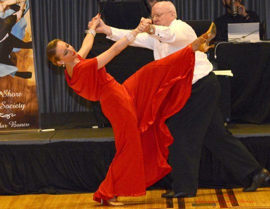 What is a Ballroom Dance Showcase?