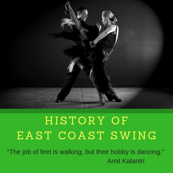 History of East Coast Swing – Swing Dance Lessons at LSDA Featured Image