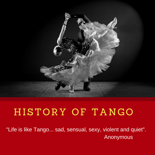 Ballroom dance lessons in Lake Forest – History of Tango Featured Image