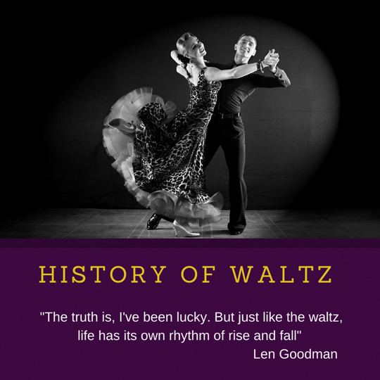 Waltz dance lessons in Evanston – History of Waltz