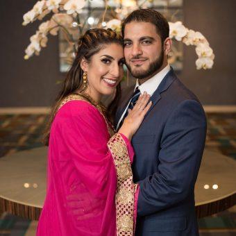 Glamorous wedding of Tamara & Fouad. Featured Image